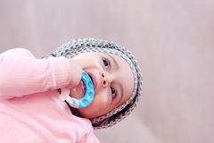 Muslim baby girl Royalty Free Stock Images