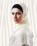Muslim beautiful girl Stock Images