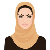Muslim beautiful girl in hijab Stock Photos