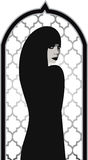 Muslim Beautiful Woman Royalty Free Stock Photo