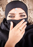 Muslim beauty Stock Image