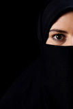 Muslim with big eyes Royalty Free Stock Photo