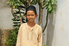 Muslim Boy Royalty Free Stock Images