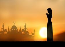 Muslim boy Royalty Free Stock Image
