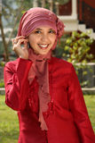 Muslim Business Woman royalty free stock photo
