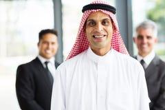 Muslim businessman team Stock Images