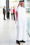 Muslim businessman traditional clothes Royalty Free Stock Images