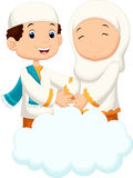 Muslim cartoon Stock Photography