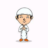 Muslim cartoon Stock Photo