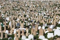 Muslim cemetery royalty free stock photos