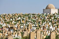 Muslim cemetery Stock Photo