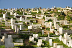 Muslim cemetery Royalty Free Stock Photo