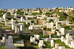 Muslim cemetery Royalty Free Stock Photo