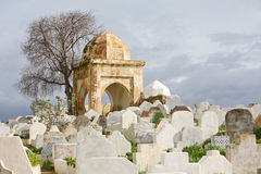 Muslim cemetery. Fes, Morocco Royalty Free Stock Photo