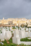 Muslim cemetery. Fes, Morocco Stock Images