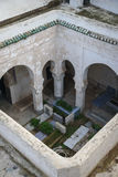 Muslim cemetery graves. Fez, Morocco Stock Image