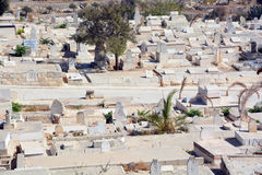 The Muslim cemetery Stock Photography