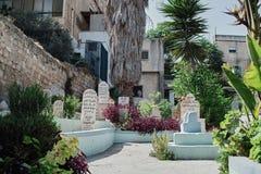 Muslim Cemetery in Nazareth, ISRAEL. Muslim cemetery in the old city of Nazareth, Israel Stock Image