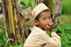 Muslim Child Stock Images