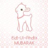 Muslim community festival of sacrifice Eid-Ul-Adha Royalty Free Stock Image