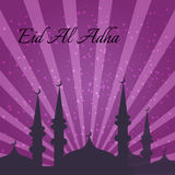 Muslim Community Festival of sacrifice Eid-Ul-Adha Royalty Free Stock Photo