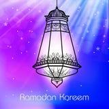 Muslim community holy month Ramadan Kareem background Royalty Free Stock Photos