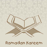 Muslim community Holy Month of Ramadan Kareem. Royalty Free Stock Photos