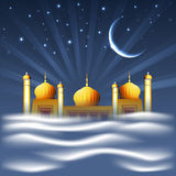 Muslim community Holy Month of Ramadan Kareem. Royalty Free Stock Images