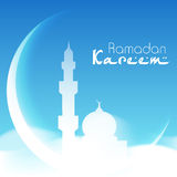 Muslim community holy month Ramadan Kareem. Royalty Free Stock Image