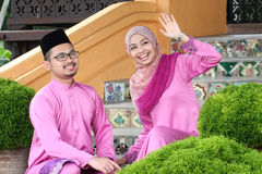 Muslim couple Royalty Free Stock Photography