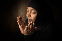 Muslim devotion Stock Images
