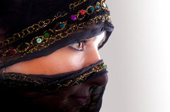 Muslim face Royalty Free Stock Image