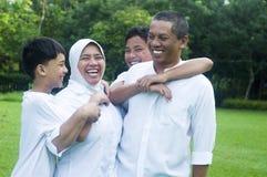 Muslim family Stock Photography