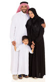 Muslim family portrait Stock Images