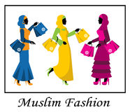 Muslim fashion Royalty Free Stock Photography