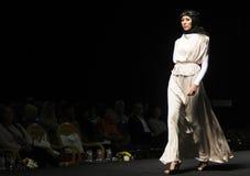Muslim Fashion Week in Indonesia Royalty Free Stock Photos