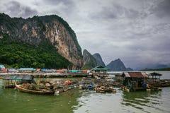 The Muslim Fishing Village on Koh Panyee, Thailand Stock Photo