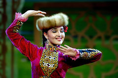 The Muslim folk music show  Royalty Free Stock Photo