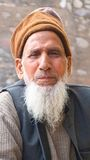 Muslim gentleman, Rajasthan, India Stock Photo