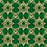 Muslim geometric ornament Stock Photo