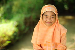 Muslim Girl Royalty Free Stock Photos