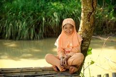 Muslim Girl Royalty Free Stock Images