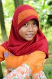 Muslim Girl. Outdoor portrait of a Muslim girl Stock Photo