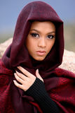 Muslim Girl. Beautiful Muslim girl wearing hijab stock image