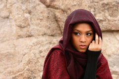 Muslim Girl stock photo