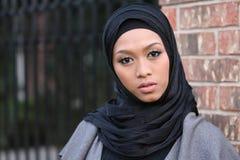 Muslim Girl. Beautiful Muslim girl wearing hijab Royalty Free Stock Image