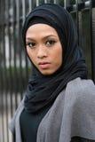Muslim Girl. Beautiful Muslim girl wearing hijab Stock Image