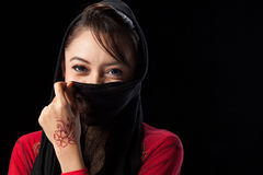Muslim girl Royalty Free Stock Photo
