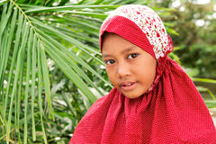 Muslim Girl Outdoor Royalty Free Stock Image