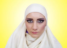 Muslim girl portrait Royalty Free Stock Image